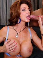 Deauxma is prowling the local coffee shop looking for the next young stud to pounce on. She sets her sights on Derrick,  who is reading a book alone. She makes sure to get rid of the barista so she can have the coffee shop to herself while she makes her mo