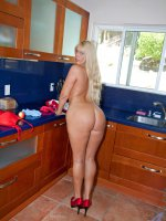 Blonde housewife bangs her pussy with a dildo while her hubby is out - Big Boobs, Big Nipples, Landing Strip Pussy, Blonde, Long hair, Bras, Panties, Masturbation, Toys, Tan, Fair Skin, High Heels, Tan Lines, Housewife, Enhanced, Milf, Thick