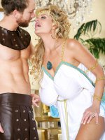 The Emperor has spoken and it shall be decreed that Kelly be eaten out,  and he shall be Glad He Ate Her – MILF,  Big Tits,  Kelly Madison