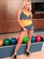 Bowling For Big Boobs – Big Tits,  Blowjob,  Cumshot