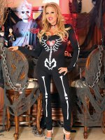 I may be the one with bones on my costume,  but when the real bone comes out to play,  that's my favorite kind of job! – MILF,  Big Tits,  Kelly Madison