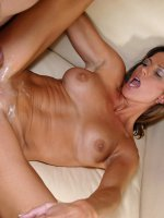 Long legged brunette cougar receives a serious pussy ramming from a horny stud on the couch - Big Boobs, Shaved Pussy, Tall Girls, Brunette, Long hair, Panties, Hardcore, Tan, High Heels, Sheer, Mini Skirt, Big Areolas, Tan Lines, Evening wear, Enhanced, Milf