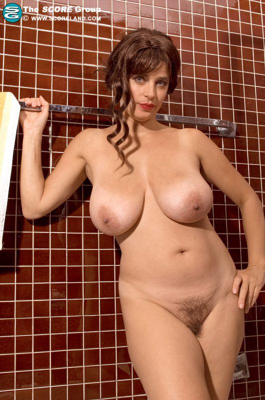 Skinny Blonde Big Natural Tits