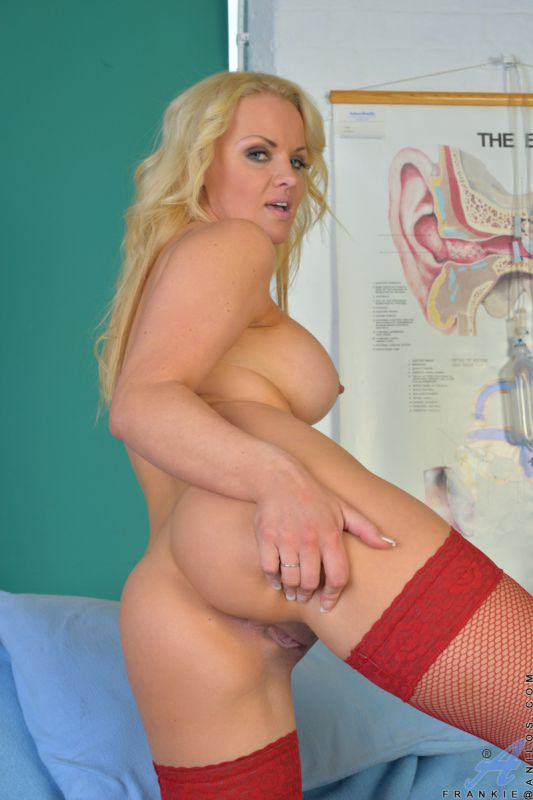 Nurse blonde boobs think