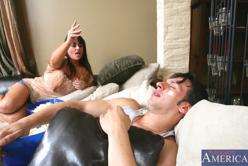 Milf waking sons friend