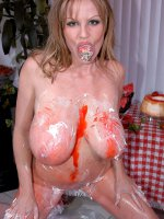 What girl doesn't love strawberries and whipped cream? Or what guy for that matter. For some reason,  fruit seems to taste so much better when it's eaten off someone's body. Kelly can vouch for that. She was feeling very naughty and... - MILF,  Big Tits,  Ke
