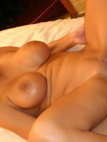 Blonde babe with big boobies Trina Michaels gets down on all fours to take a cock in her pussy