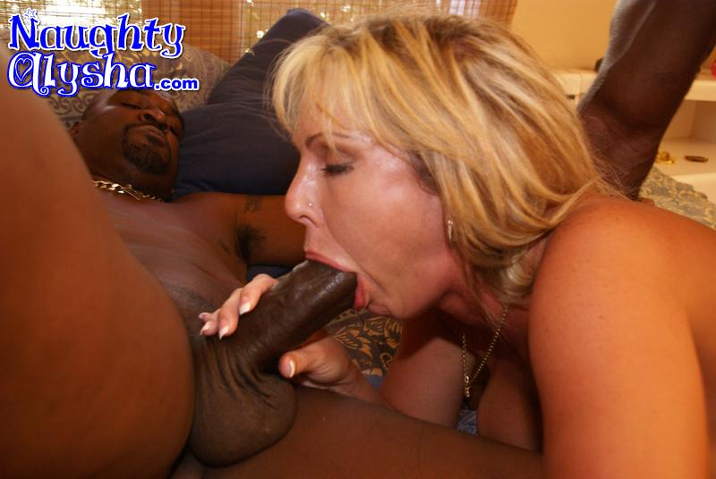 Wife licking spunk