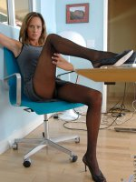 Erotic Anilos milf slides down her black pantyhose and fucked her pussy with the magic wand - Big Boobs, Shaved Pussy, Tall Girls, Brunette, Long hair, Masturbation, Toys, Pantyhose, Tan, High Heels, Sheer, Mini Skirt, Big Areolas, Tan Lines, Office, Enhanced, Milf