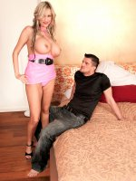Meet Sandra Star,  Miss Hot SCORE Germany - Anal,  Big Tits,  Blowjob,  Cumshot