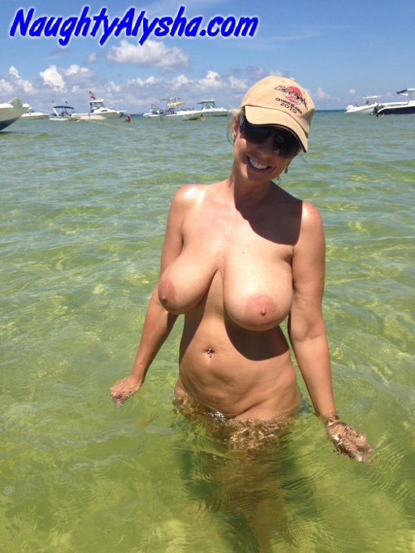 Definitely naughty milf showing off her boobs rated