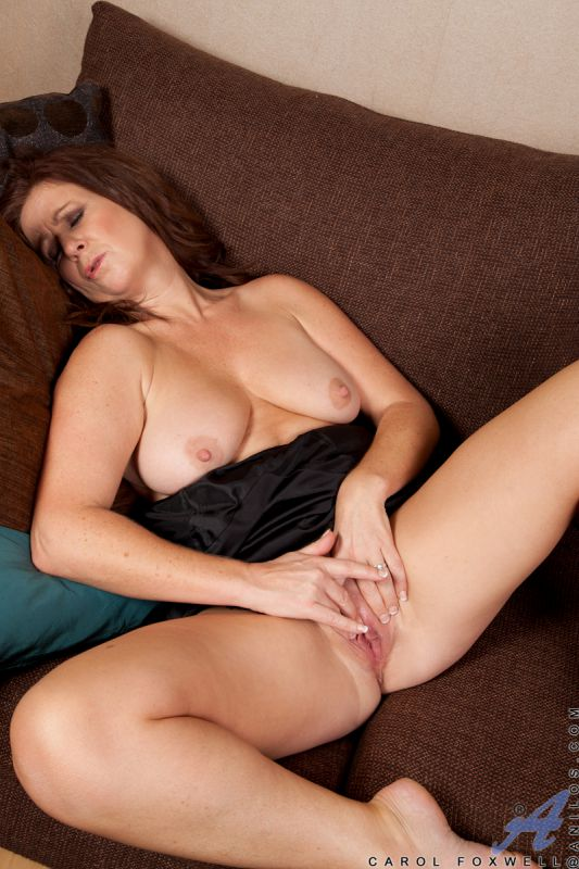 Beautiful brunette strip teases and shows her hot cunt 7