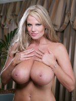 Kelly plays with her big 34FF all natural tits! – MILF,  Big Tits,  Kelly Madison