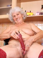 Naughty Anilos granny takes off her panties and stimulates her experienced gray haired pussy with her vibrator – Big Boobs, Hairy Pussy, Short hair, Bras, Panties, Masturbation, Toys, Fair Skin, High Heels, Sheer, Natural, Granny, Thick, Stockings