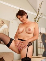 Anilos Foxy lays naked waiting for someone to fuck her experienced pussy – Big Boobs, Shaved Pussy, Tall Girls, Redhead, Short hair, Fair Skin, Thongs, High Heels, Big Areolas, Evening wear, Enhanced, Milf, Stockings
