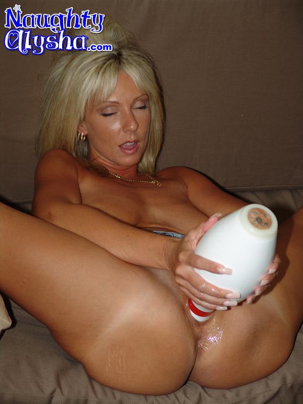 Milf slut blonde both ends