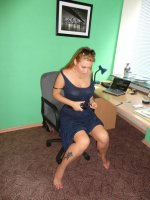 Big boobed ex girlfriend Sonya takes a break from a busy day athe the office and masturbates in this scene